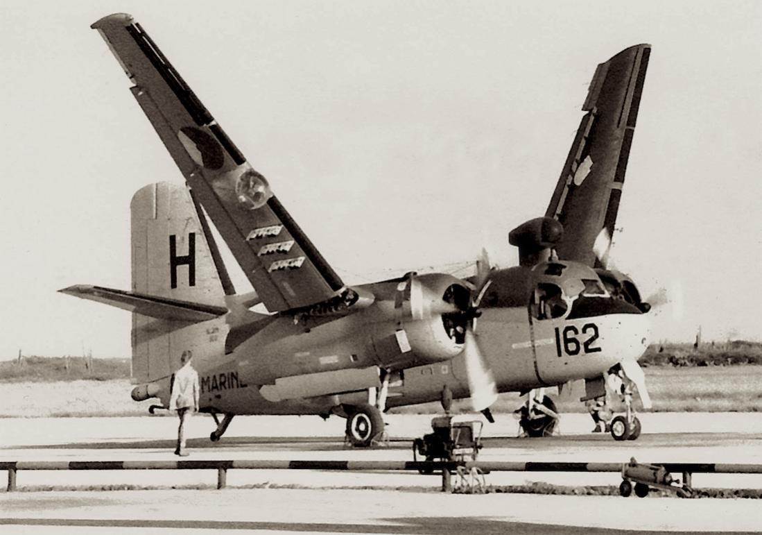 Naam: '162:H'. Grumman S2F-1 (S-2A) Tracker, kopie 1100.jpg Bekeken: 161 Grootte: 90,3 KB