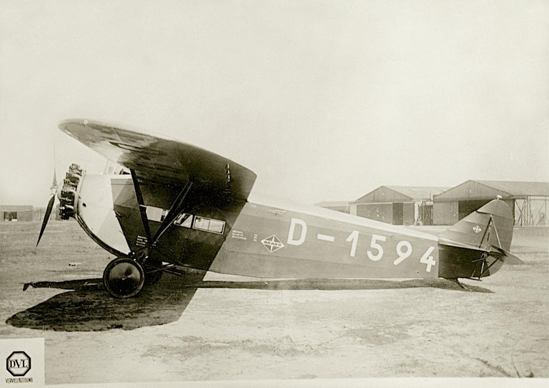 Naam: Foto 467. D-1594. Arado V I. 1100 breed.jpg Bekeken: 69 Grootte: 89,7 KB