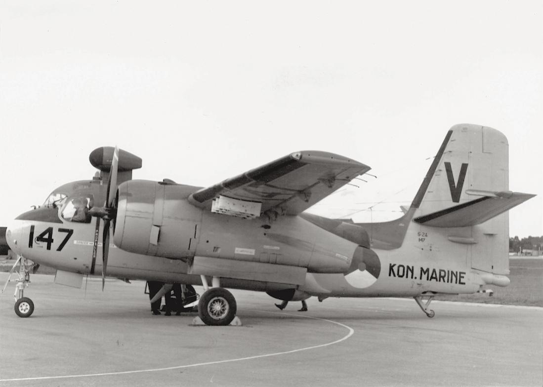 Naam: #342.  '147'. Grumman S-2A Tracker. 1100 breed.jpg Bekeken: 228 Grootte: 61,3 KB