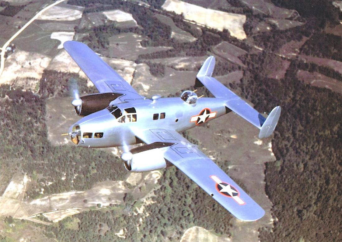 Naam: Foto 686. Fairchild AT-21 Gunner. 1100 breed.jpg Bekeken: 309 Grootte: 139,0 KB