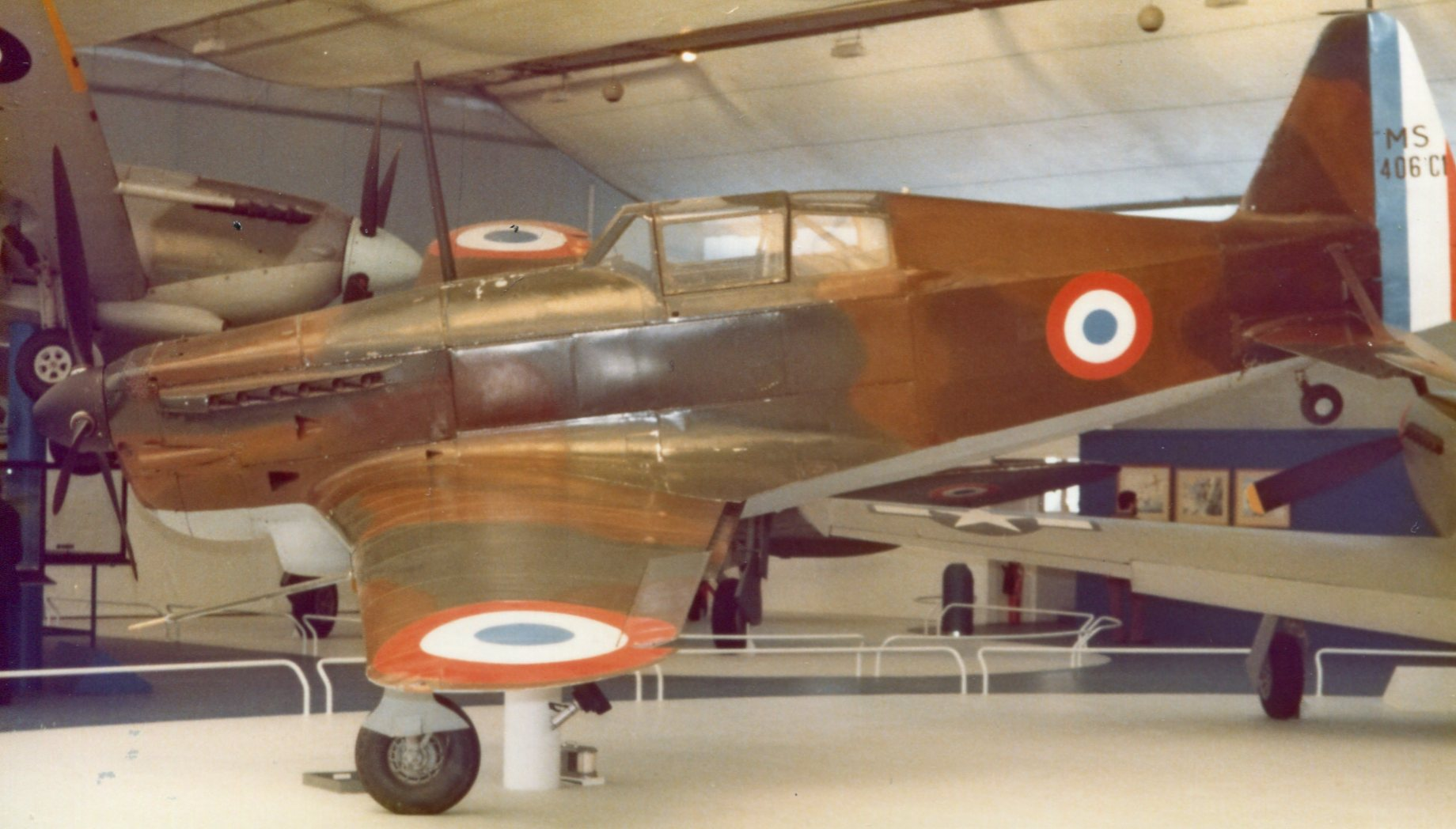 Naam: MS 406 Dewoitine - musee de l ' air - Parijs. (2)+.jpg Bekeken: 170 Grootte: 227,4 KB