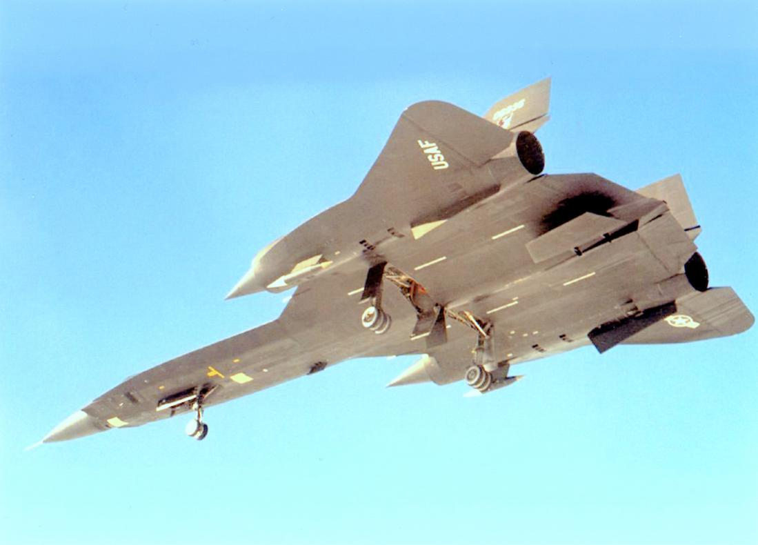 Naam: Foto 760. Lockheed YF-12. 1100 breed.jpg Bekeken: 119 Grootte: 52,9 KB