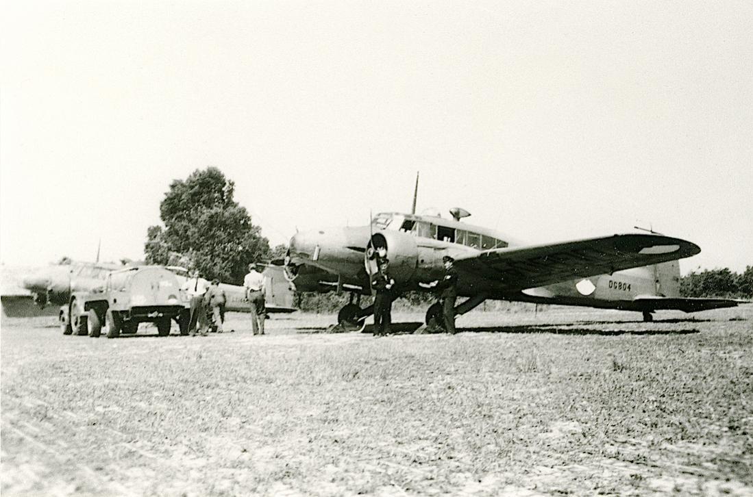 Naam: Foto 226. Avro Type 652A Anson Mk. I. 1100 breed.jpg Bekeken: 462 Grootte: 114,6 KB