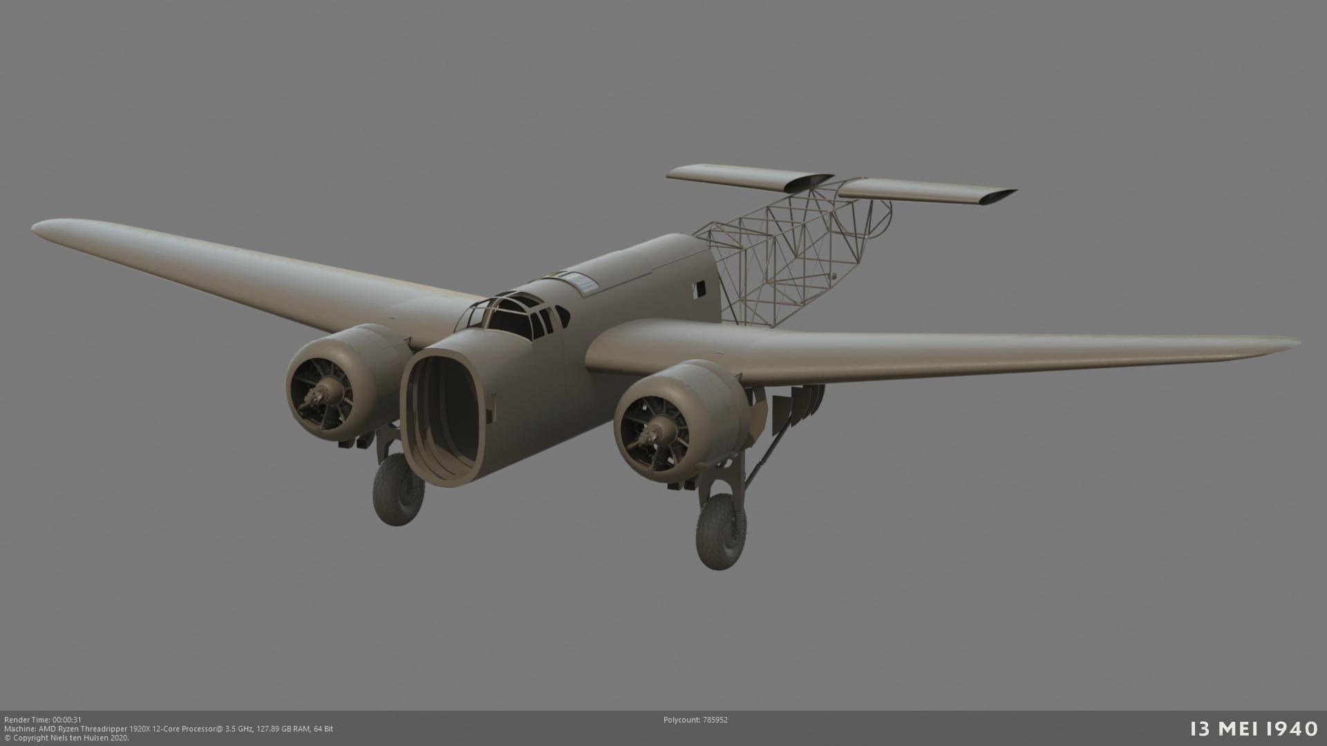 Naam: 001_FokkerT5_motor12.jpg Bekeken: 99 Grootte: 188,3 KB