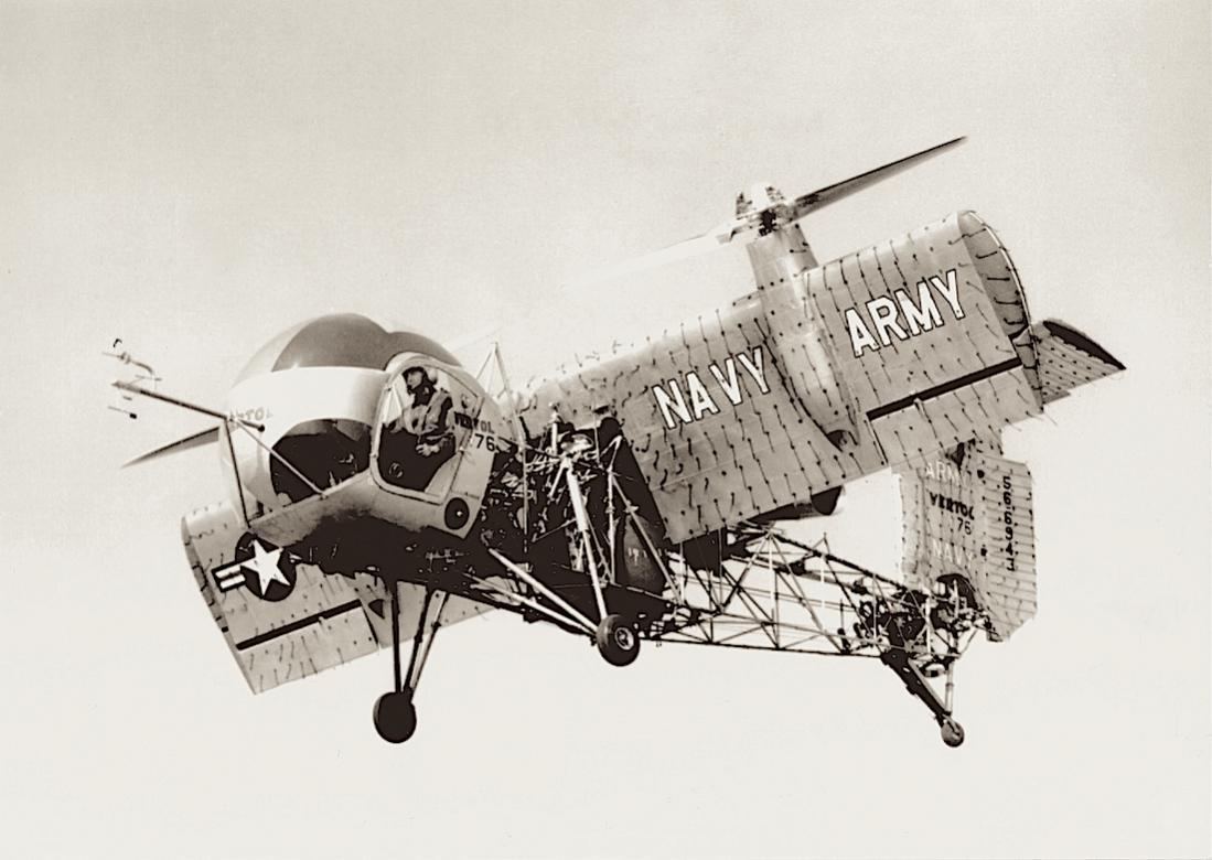 Naam: Foto 654. Vertol (later Boeing) Model 76. (Army:Navy VZ-2A programma).1100 breed.jpg Bekeken: 174 Grootte: 86,4 KB