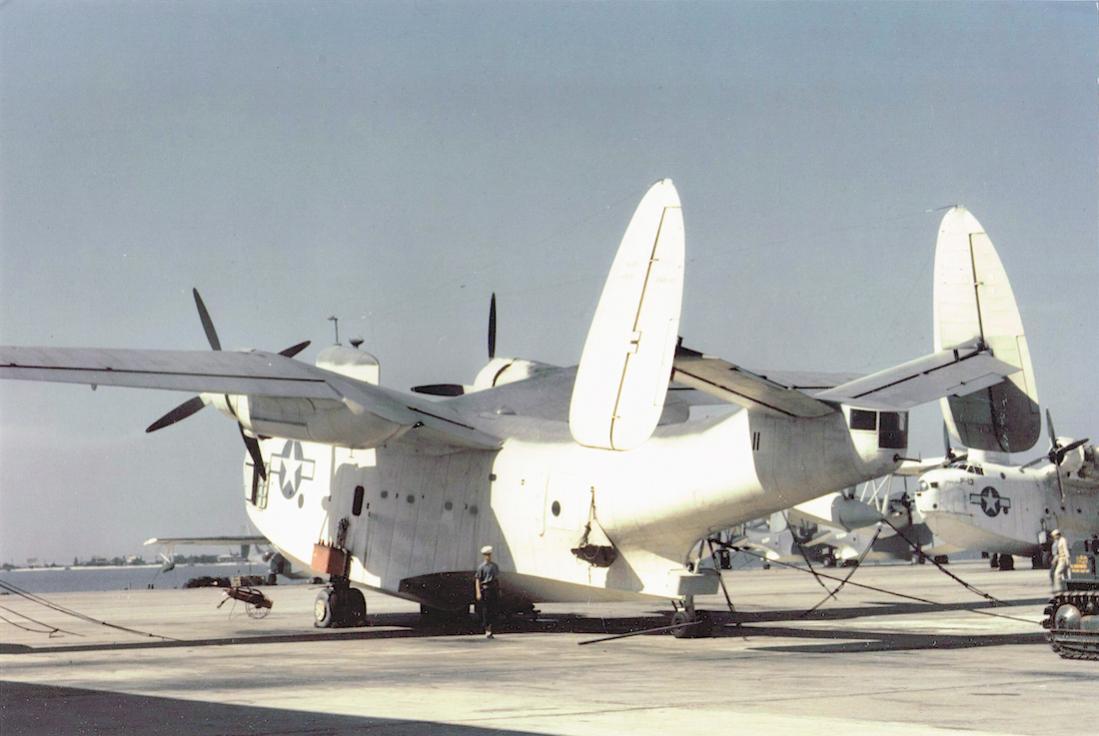 Naam: Foto 655. Martin PBM-3S Mariner of US Navy patrol squadron VP-214 at Naval Air Station Norfolk, .jpg Bekeken: 185 Grootte: 78,3 KB