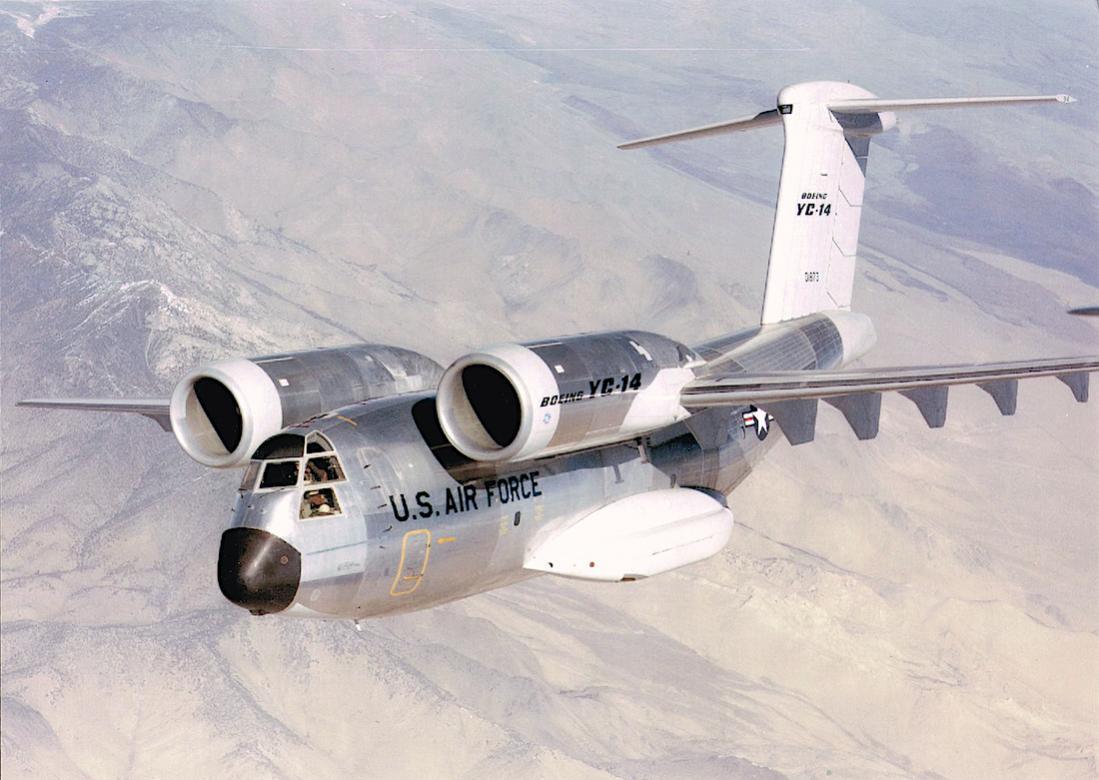 Naam: Foto 657. Boeing YC-14. 1100 breed.jpg Bekeken: 144 Grootte: 100,4 KB