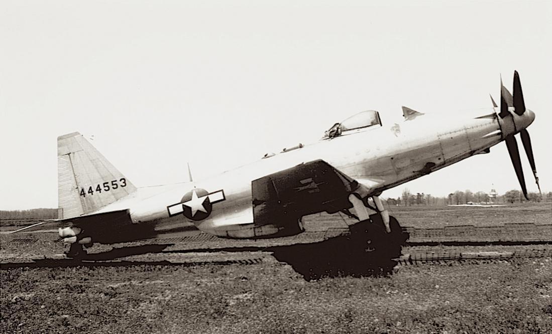 Naam: Foto 662. Fisher XP-75 Eagle. 1100 breed.jpg Bekeken: 243 Grootte: 92,0 KB