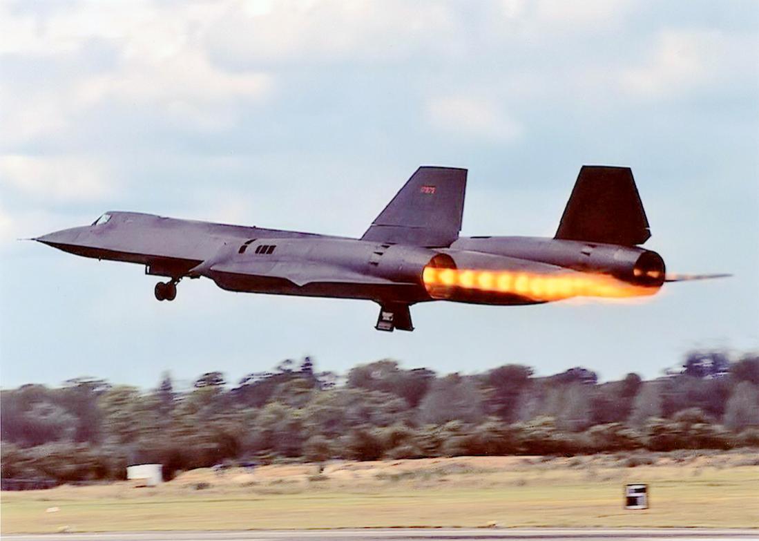 Naam: Foto 665. Lockheed SR-71 Blackbird. 1100 breed.jpg Bekeken: 145 Grootte: 73,0 KB