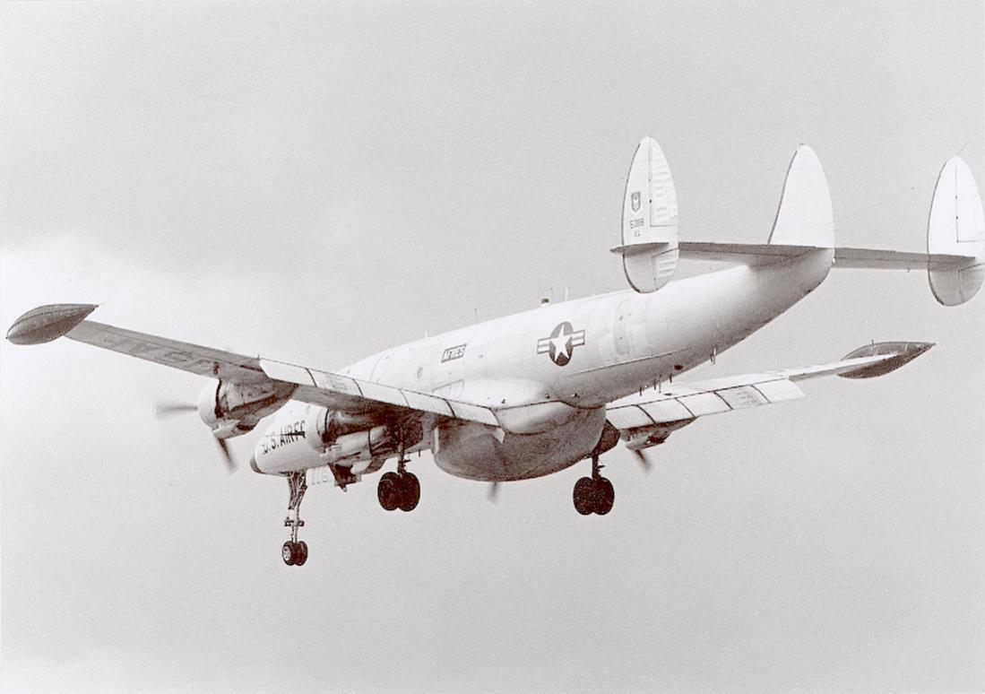 Naam: Foto 666. Lockheed Warning Star. 1100 breed.jpg Bekeken: 138 Grootte: 69,9 KB