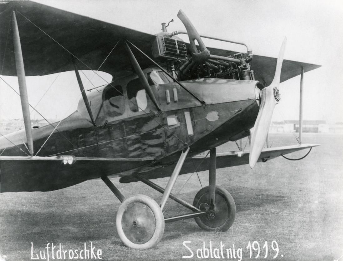 Naam: Foto 478. Sablatnig P.1 uit 1919. 1100 breed.jpg Bekeken: 343 Grootte: 112,0 KB