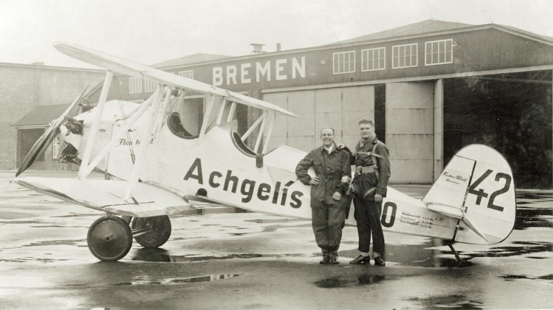Naam: Foto 480. D-1610. Focke-Wulf S 24. 1100 breed.jpg Bekeken: 242 Grootte: 81,9 KB