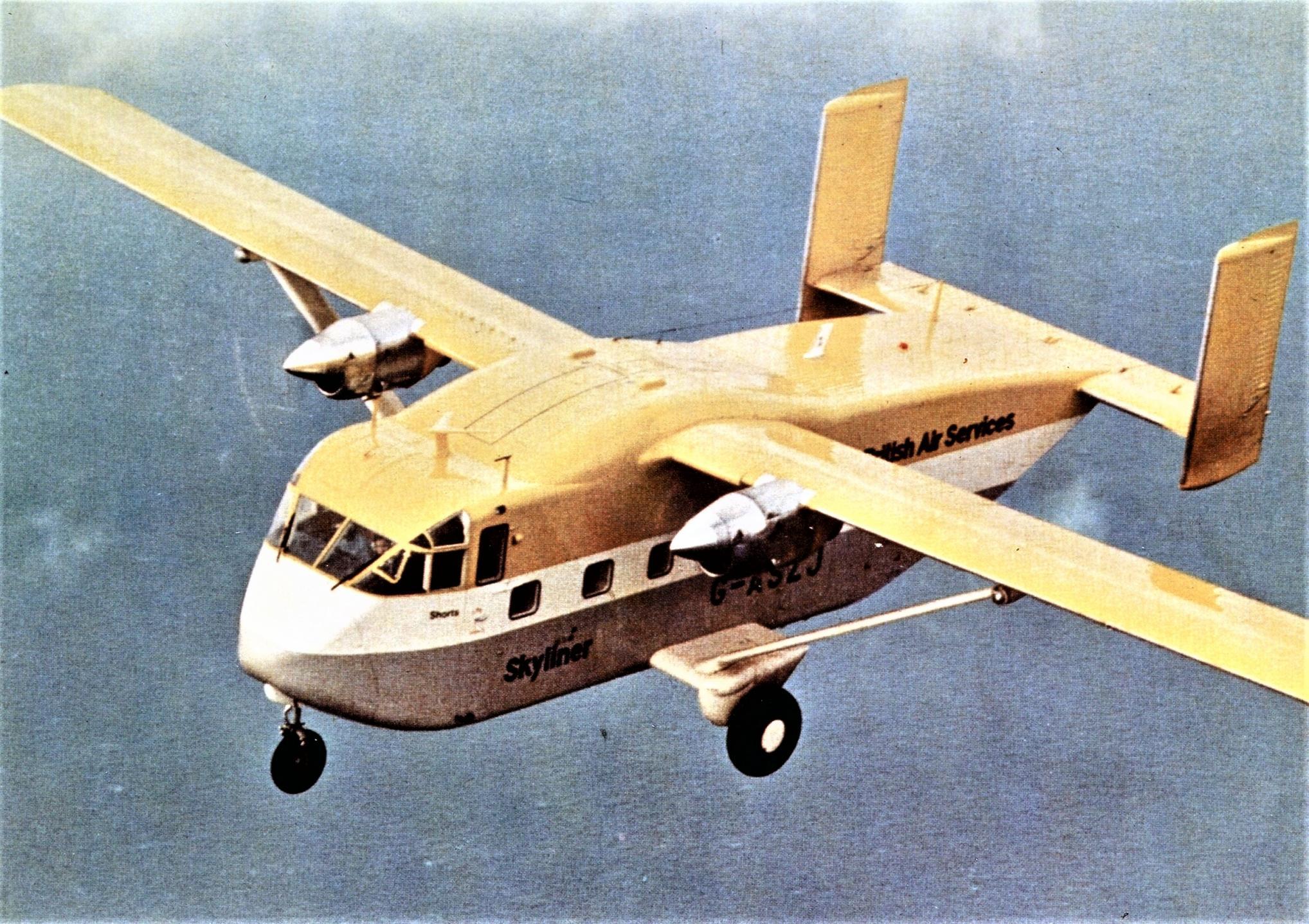 Naam: Short Skyvan G-ASZJ.jpg Bekeken: 236 Grootte: 512,7 KB