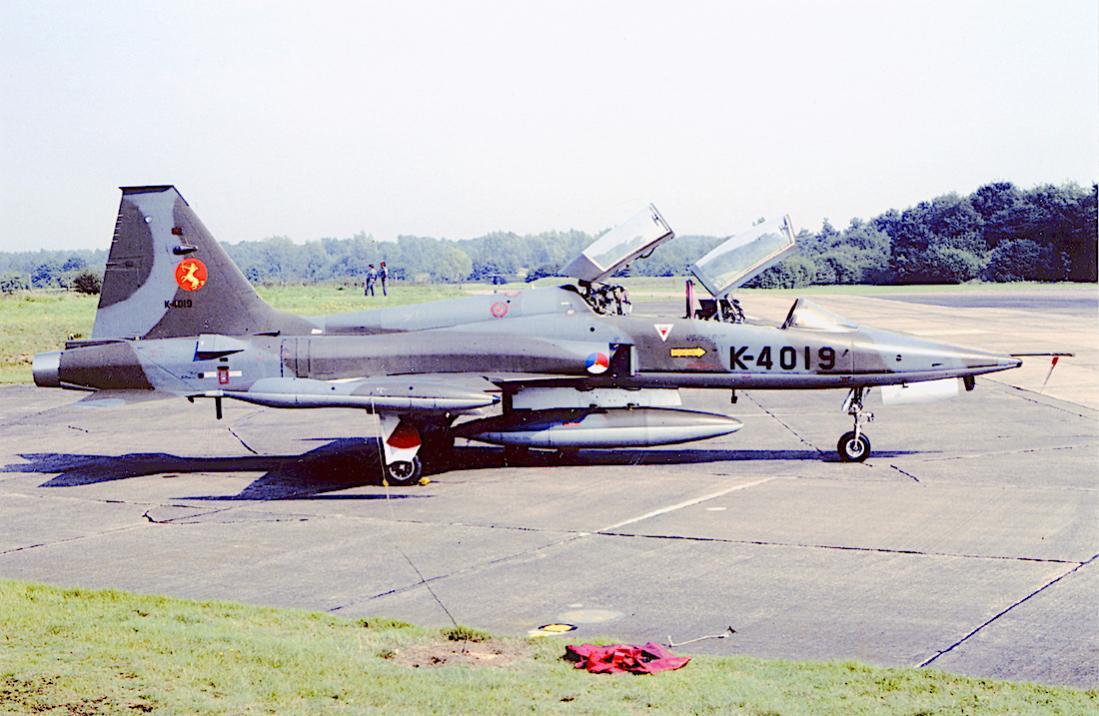 Naam: Foto 274. K-4019. Northrop NF-5B. 1100 breed.jpg Bekeken: 368 Grootte: 108,2 KB