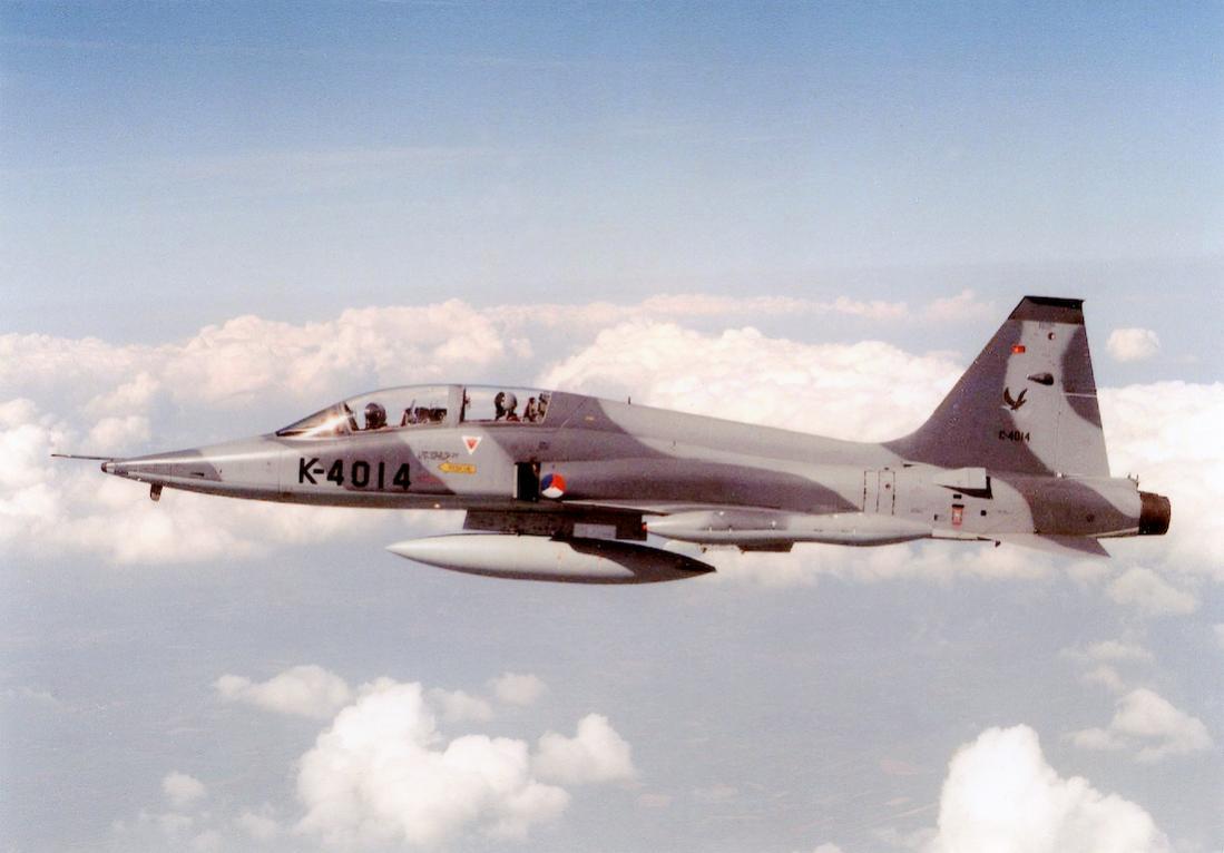 Naam: Foto 280. K-4014. Northrop NF-5B. 1100 breed.jpg Bekeken: 115 Grootte: 65,5 KB