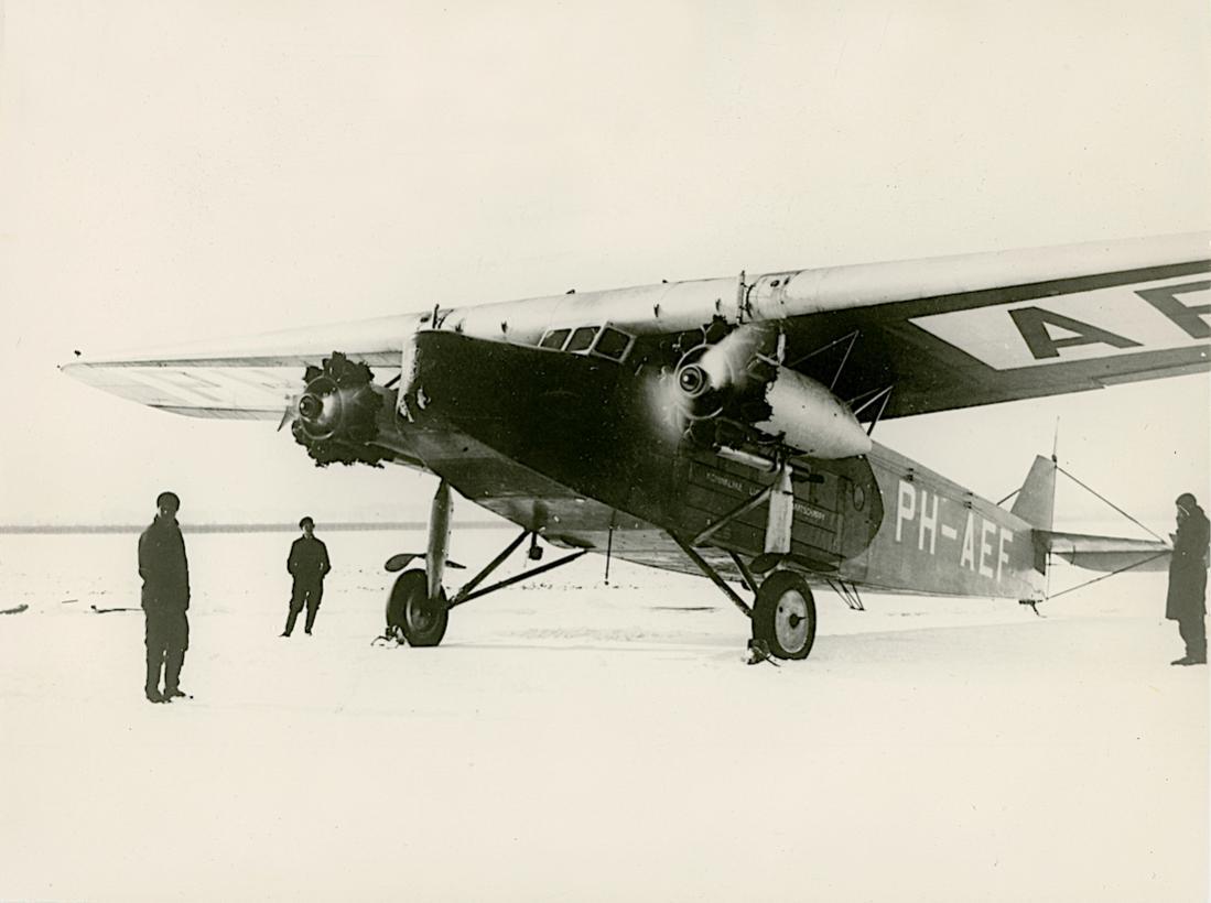 Naam: Foto 324. PH-AEF (H-NAEF), Fokker F.VIII. Wintertijd. 1100 breed.jpg Bekeken: 353 Grootte: 63,7 KB