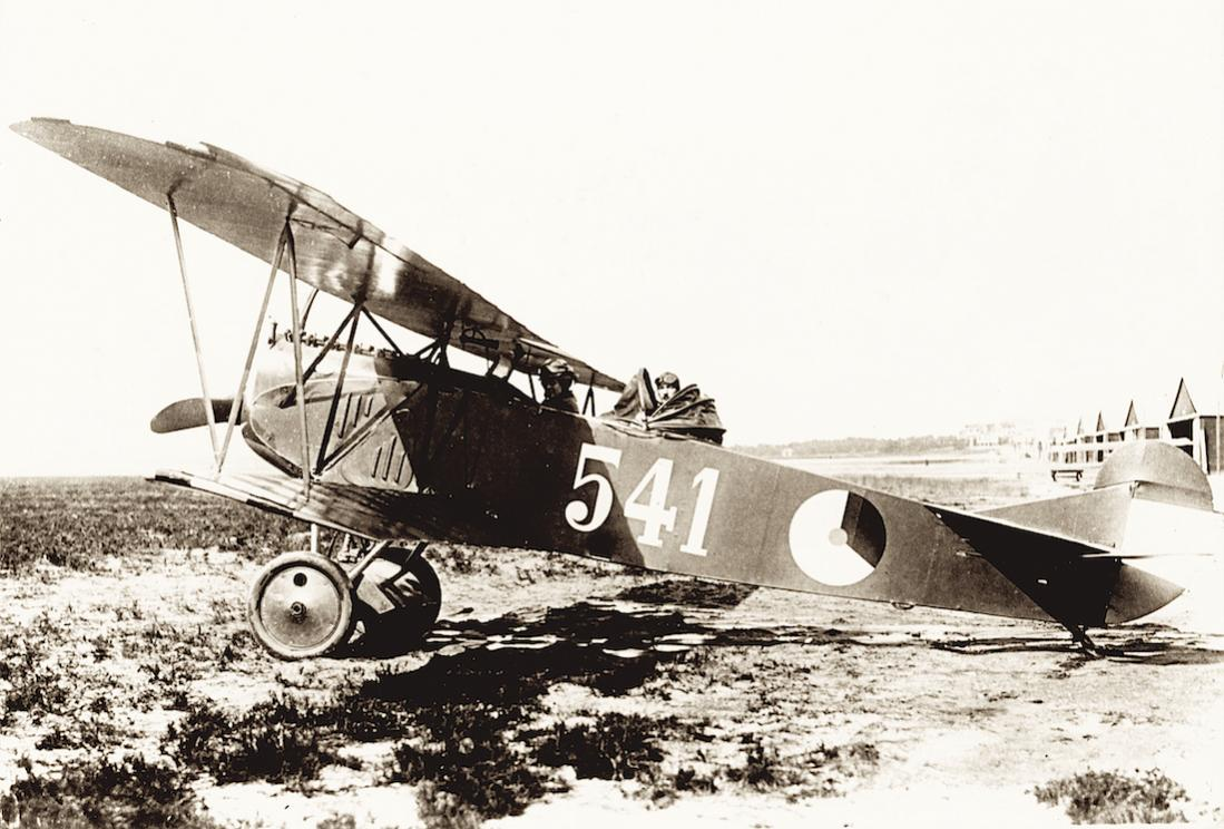 Naam: Foto 123. '541'. Fokker C.I te Soesterberg. 1100 breed.jpg Bekeken: 78 Grootte: 116,3 KB