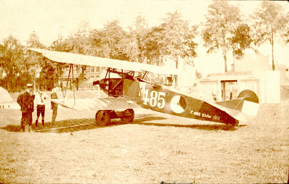 Naam: Foto 138. '485'. Fokker C.I kopie 2. 1100 breed.jpg Bekeken: 372 Grootte: 148,2 KB