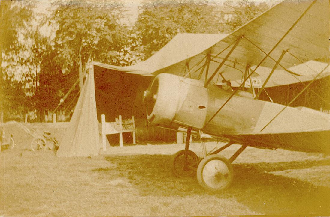 Naam: Foto 143. LVA6a. Fokker S.II. 1200dpi. 1100 breed.jpg Bekeken: 80 Grootte: 126,6 KB
