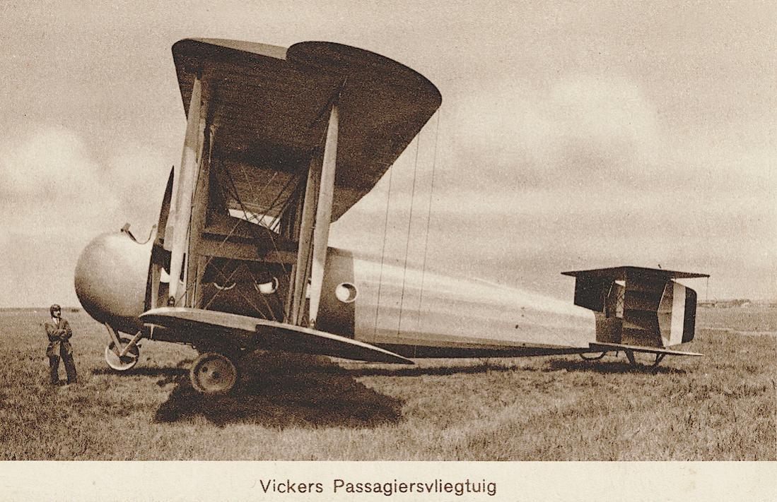 Naam: Kaart 863. ELTA 1919. Vickers F.B.28 Vimy Commercial. 1100 breed.jpg Bekeken: 58 Grootte: 153,9 KB