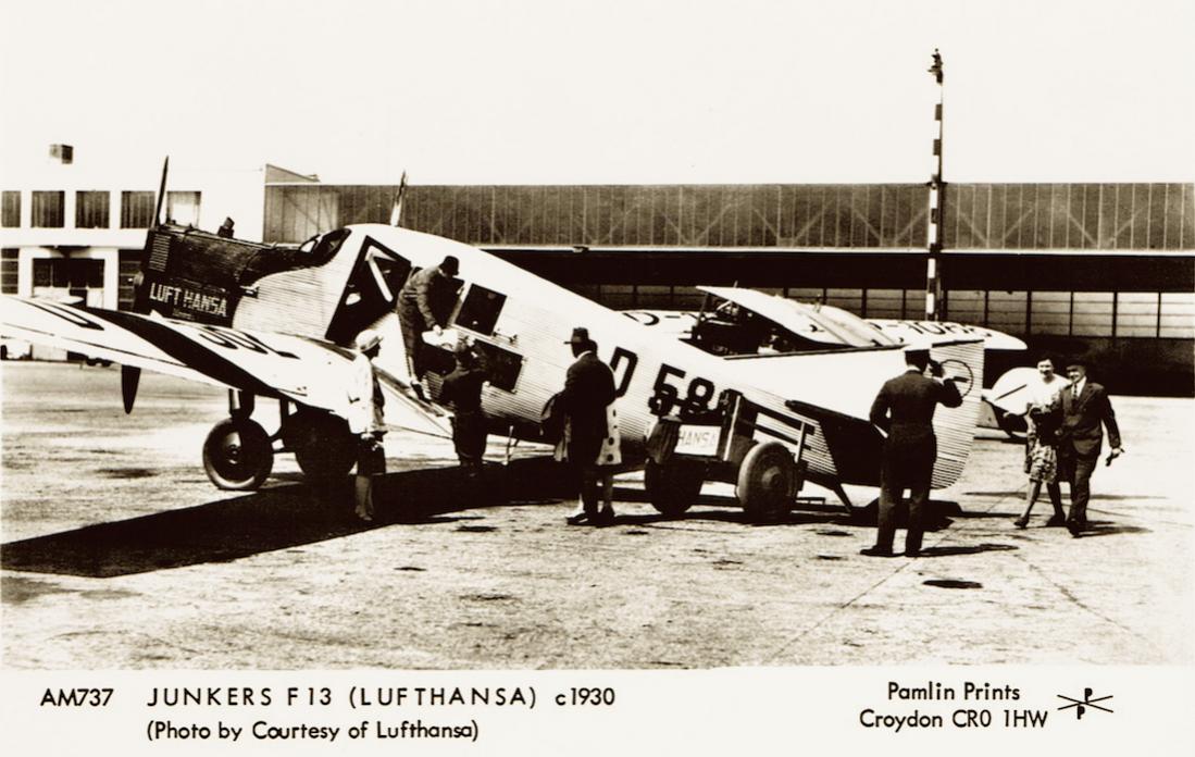 Naam: Foto 374. D-582 'Dommel'. Junkers F.13, kopie 1100.jpg Bekeken: 482 Grootte: 105,1 KB