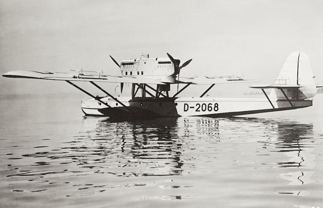 Naam: Foto 459. D-2068. Dornier Do J IIa Bos:Do J IIa K Bos (from march 1933). 1100 breed.jpg