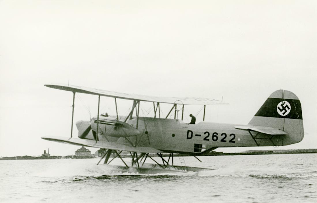 Naam: Foto 451. D-2622 (D-AKIV). Heinkel He 59 B. Werknr. 442. 1100 breed.jpg Bekeken: 258 Grootte: 58,6 KB