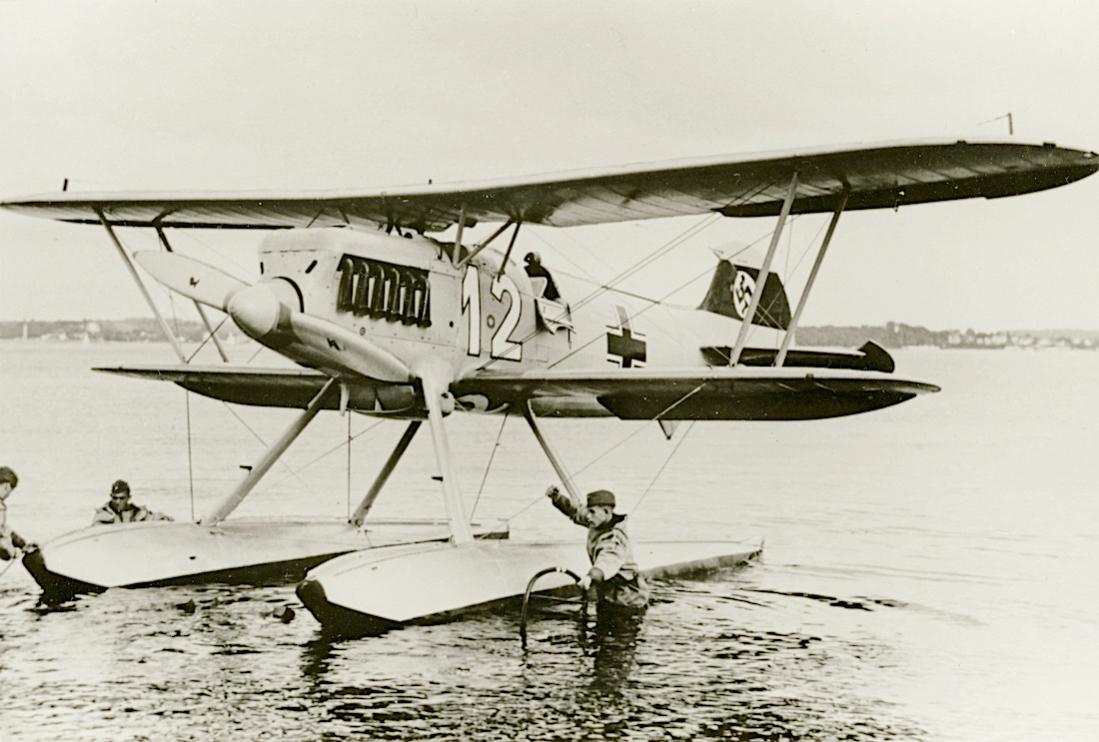 Naam: Foto 527. Heinkel He-51 B-2. 1100 breed.jpg Bekeken: 127 Grootte: 95,1 KB