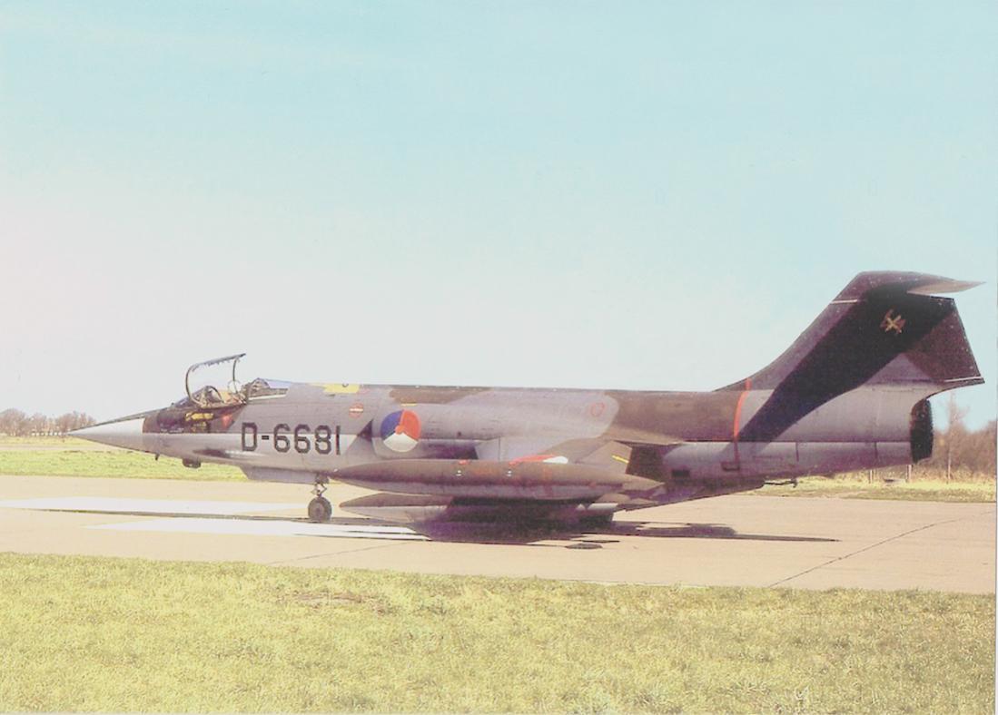 Naam: Foto 206. 'D-6681'. Lockheed F-104G Starfighter. 1100 breed.jpg Bekeken: 142 Grootte: 75,1 KB