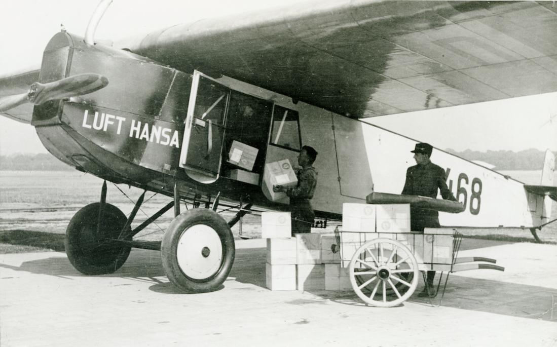 Naam: Foto 455. D-468. Fokker-Grulich F.III. 1100 breed.jpg Bekeken: 140 Grootte: 93,8 KB