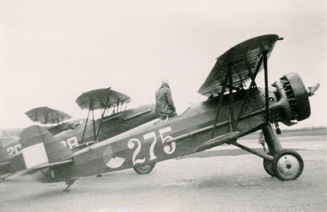 Naam: Foto 127. '275'. Fokker D.XVI. 1100 breed.jpg Bekeken: 263 Grootte: 76,9 KB