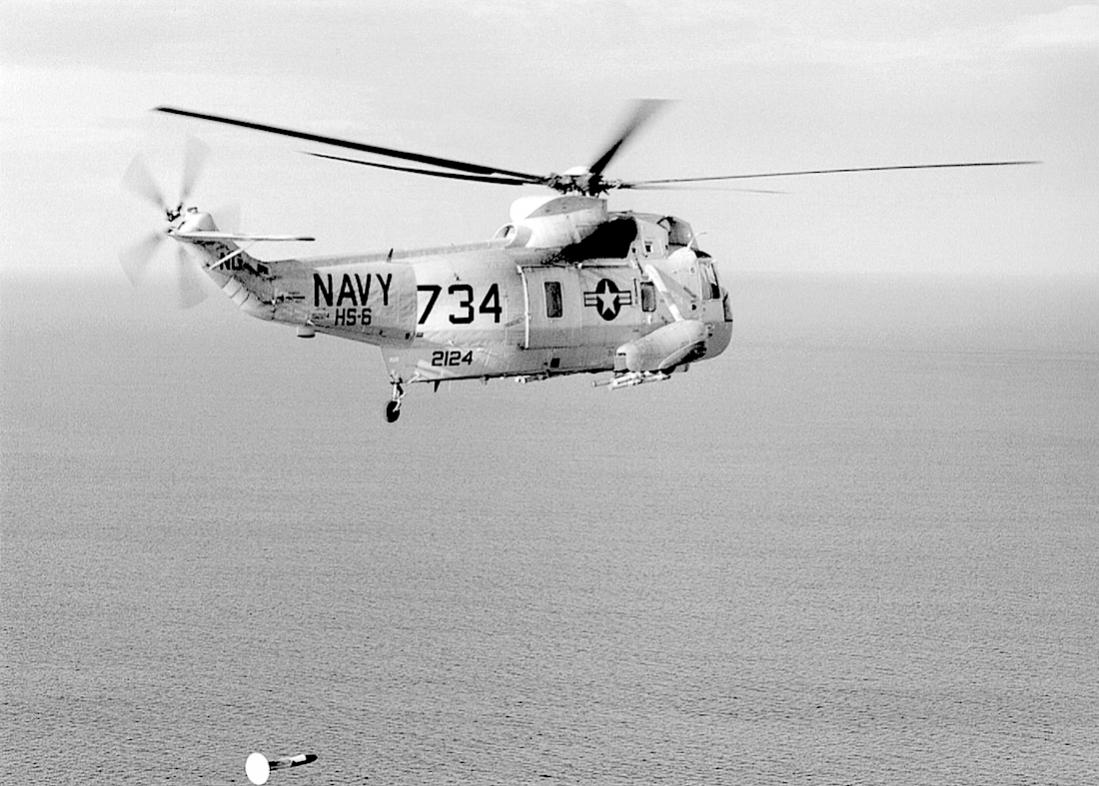 Naam: Foto 713. 152124 (MSN 61318). Sikorsky SH-3A Sea King, converted to SH-3H. 1100 breed.jpg Bekeken: 94 Grootte: 117,2 KB