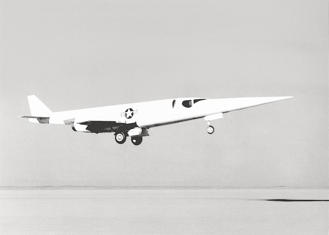 Naam: Foto 714. Douglas X-3 Stiletto. 1100 breed.jpg Bekeken: 65 Grootte: 67,7 KB