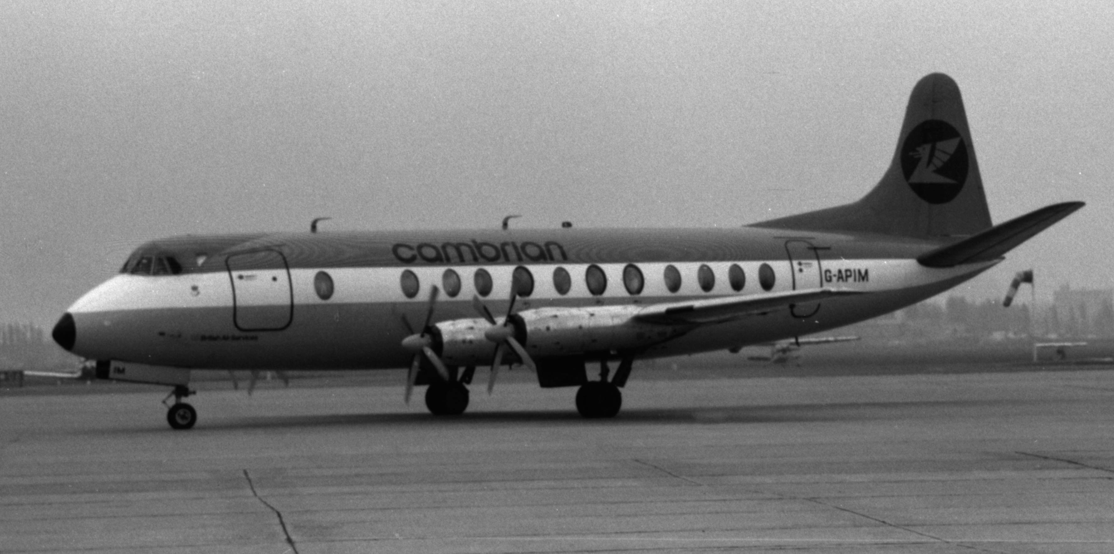Naam: 12. G-APIM Vickers 813 Viscount Cambrian.jpg Bekeken: 1186 Grootte: 505,7 KB