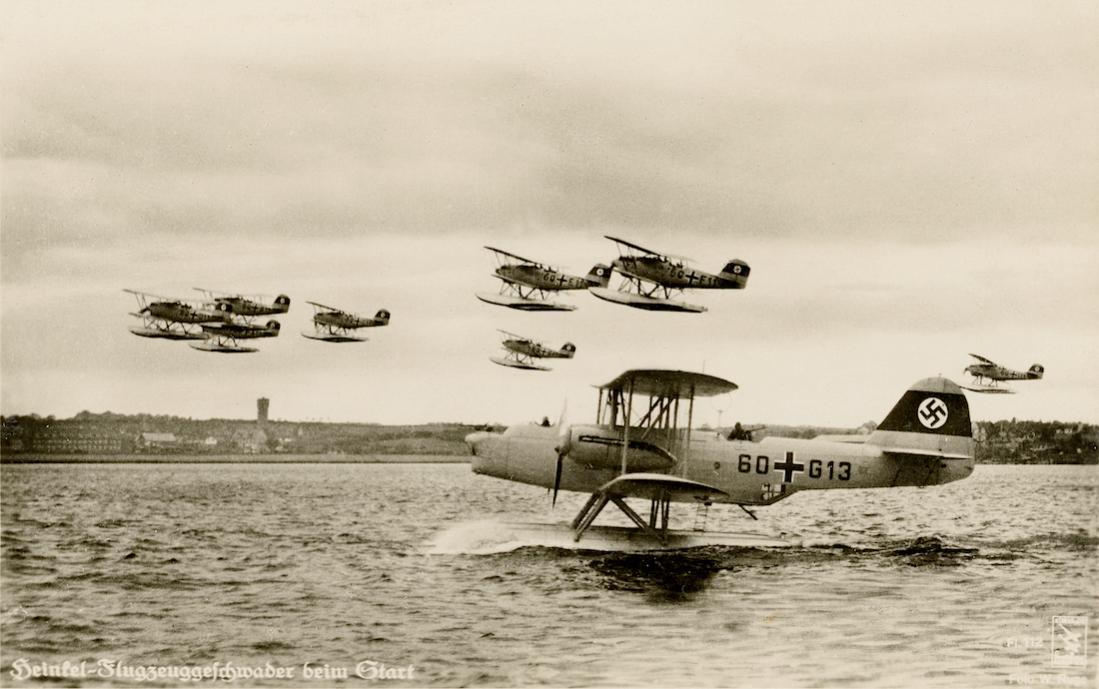 Naam: Foto 539. 1x Heinkel  He 59 en 8x He 60. 1100 breed.jpg Bekeken: 112 Grootte: 87,0 KB