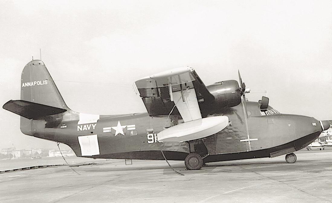 Naam: Foto 741. Grumman (Model G-64) UF-1T Albatross. s:n 131916 (MSN 311). Redesignated TU-16C in 196.jpg Bekeken: 163 Grootte: 75,8 KB