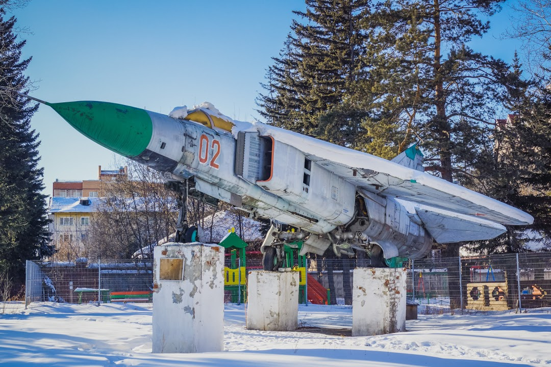 Naam: Mig 23M - Irkutsk..jpg Bekeken: 214 Grootte: 283,1 KB
