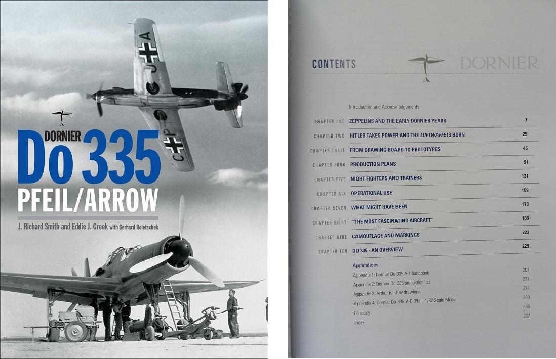 Naam: Do 335 Front Cover & TOC.jpg Bekeken: 288 Grootte: 212,4 KB