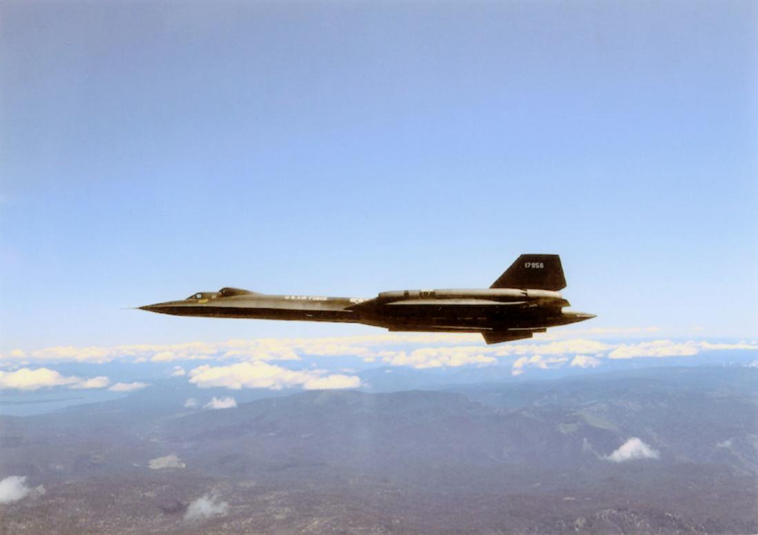 Naam: Foto 778. 61-7956 (17956). (MSN 2007). Lockheed TSR-71 Blackbird. Joe Baugher's lijst geeft SR-7.jpg Bekeken: 119 Grootte: 45,1 KB