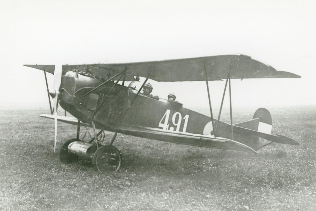 Naam: Foto 130. '491'. Fokker C.I. 1100 breed.jpg Bekeken: 50 Grootte: 82,9 KB