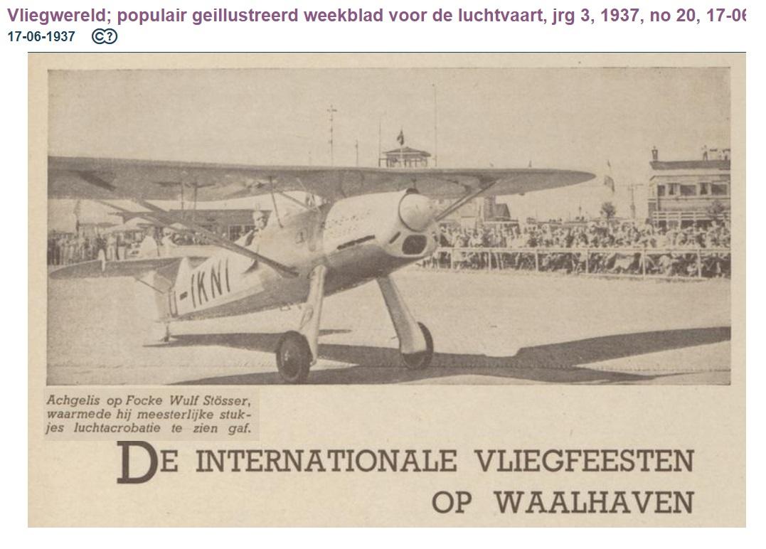 Naam: 1937-06-17 Focke Wulf Stösser D-IKNI.jpg Bekeken: 108 Grootte: 175,8 KB