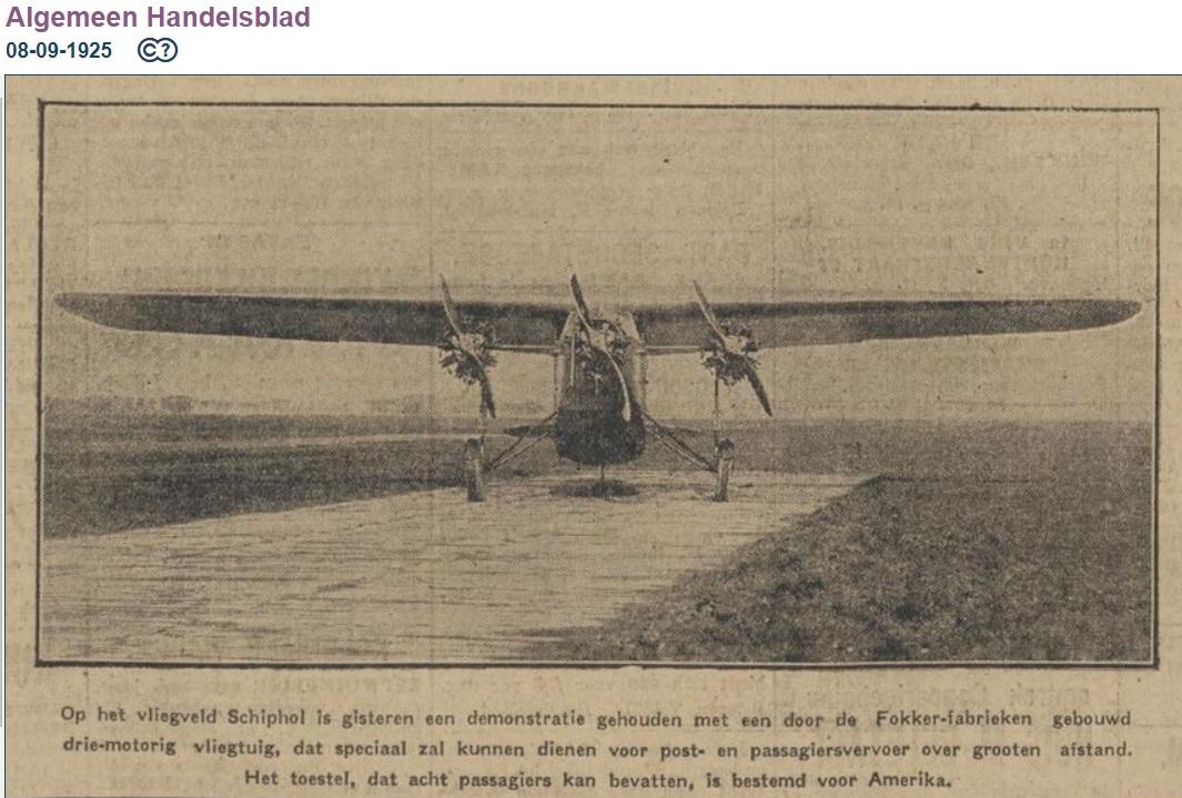 Naam: F F.7 4900 00 op Spl op betonstrook Alg Handbl 1925-09-08.jpg Bekeken: 261 Grootte: 250,0 KB