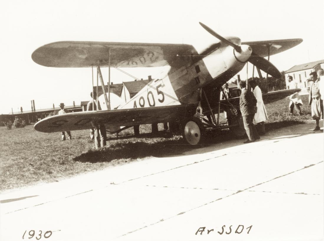 Naam: Foto 498. D-1905. Arado Ar SSD I. 1100 breed.jpg Bekeken: 189 Grootte: 81,5 KB