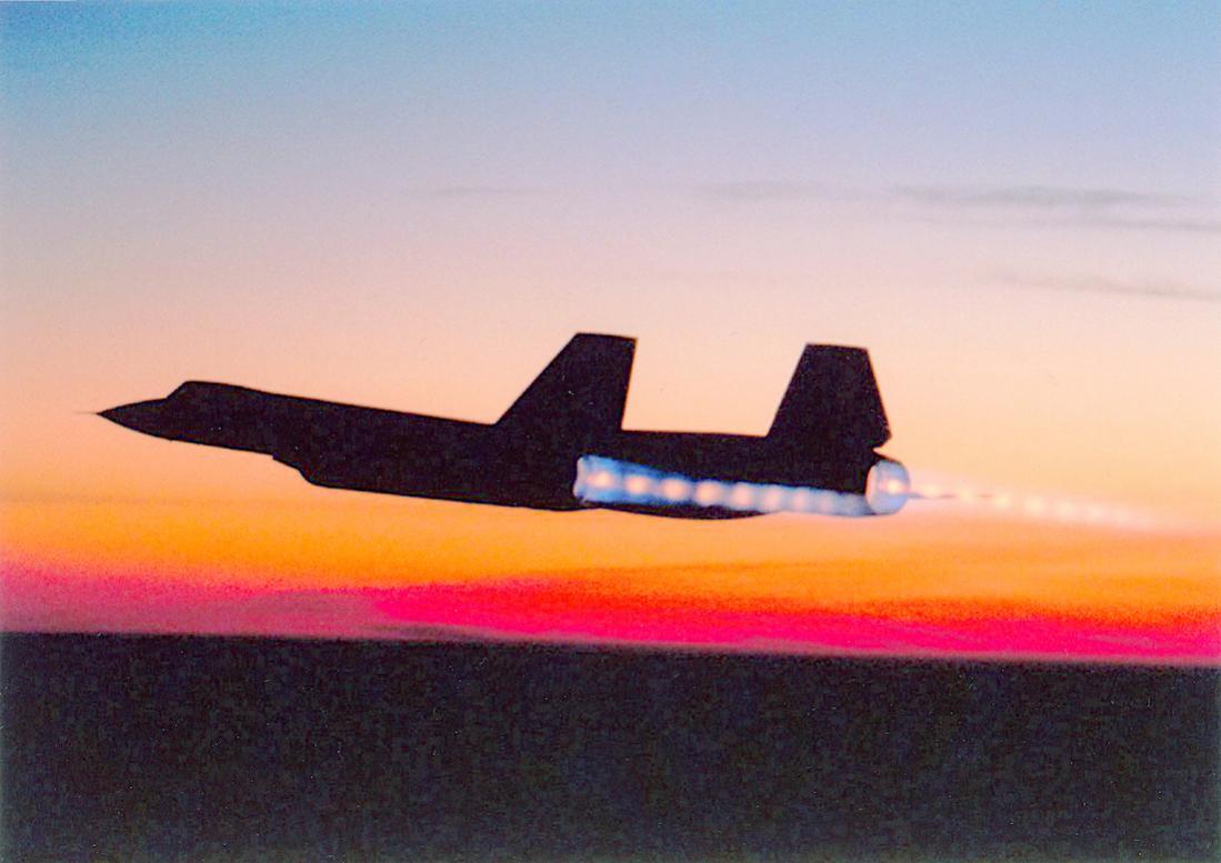 Naam: Foto 769. Lockheed SR-71 Blackbird. 1100 breed.jpg Bekeken: 59 Grootte: 77,5 KB