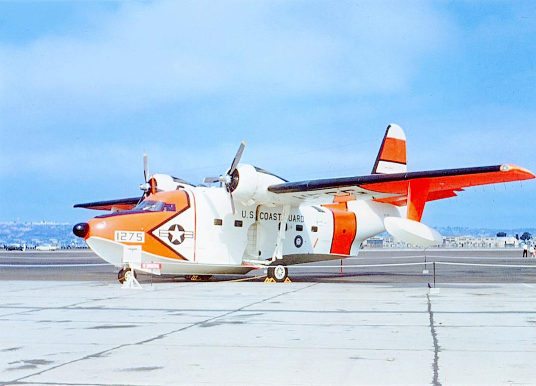 Naam: Foto 770. 1275 (MSN 323). Grumman (Model G-64) UF-1G Albatross, redesignated HU-16E in 1962. 110.jpg Bekeken: 35 Grootte: 82,2 KB