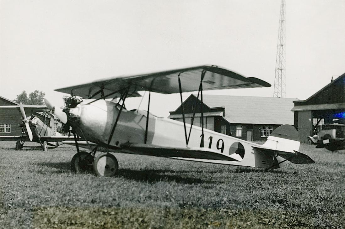 Naam: Foto 125. '119'. Fokker S.IV (2e geleverde serie). 1100 breed.jpg Bekeken: 382 Grootte: 117,0 KB