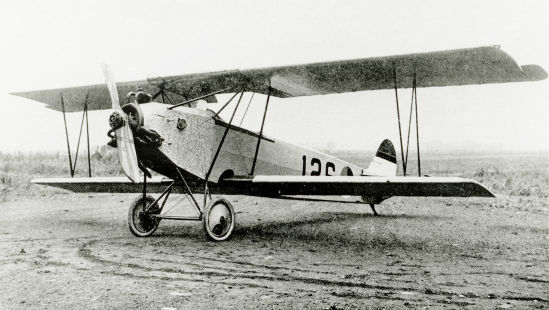 Naam: Foto 128. '126'. Fokker S.IV. 1100 breed.jpg Bekeken: 210 Grootte: 98,6 KB