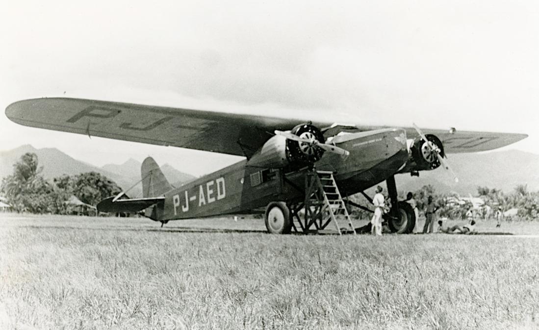 Naam: Foto 352. 'PJ-AED'. Fokker F.VIII. 1100 breed.jpg Bekeken: 178 Grootte: 98,8 KB