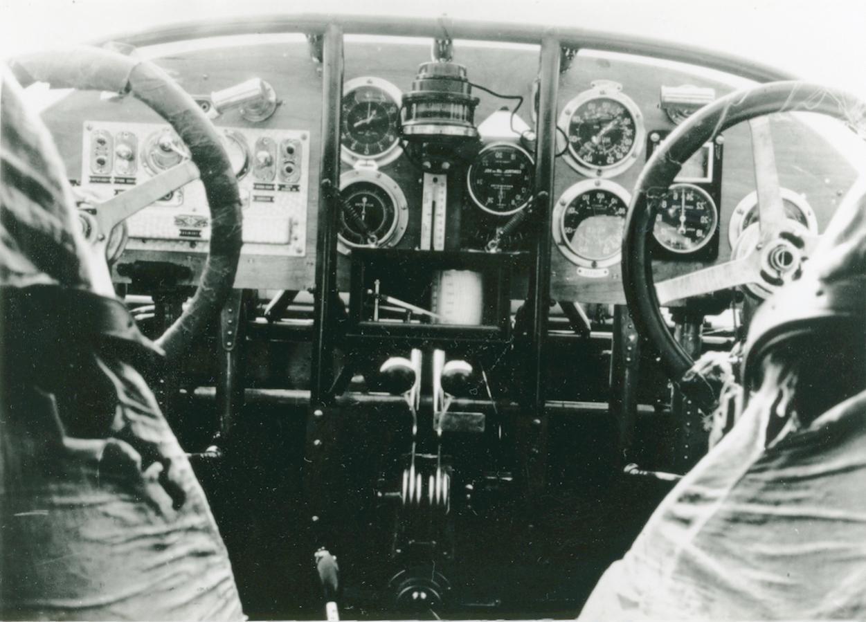 Naam: Foto 356. Cockpit Fokker F.VIII kopie.jpg Bekeken: 19 Grootte: 127,3 KB