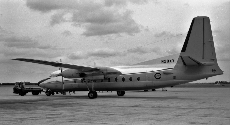 Naam: 21. N20XY Fokker F-27 OXY Air -1.jpg Bekeken: 612 Grootte: 308,7 KB